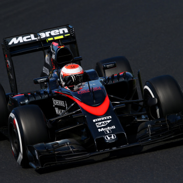 Image: Jenson Button during Formula One Grand Prix of Hungary on July 26