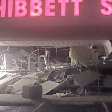 Image: Tornado in Troy, Alabama