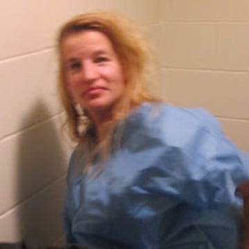 jail photo of Jody Herring who gunned down caseworker her helped seize her of custody over a young daughter