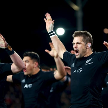 Image: Richie McCaw of the All Blacks
