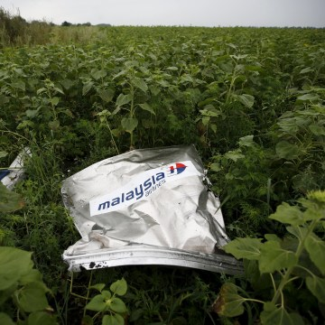 Image: Debris from a Malaysian Airlines Boeing 777
