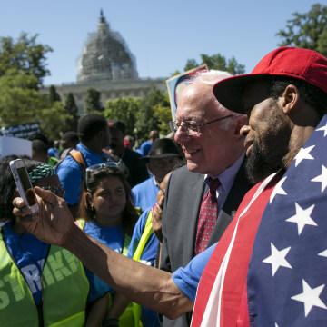 Federal Minimum Wage Rally