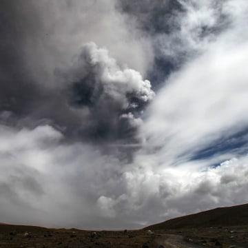 Image: Yellow alert in Ecuador because of Cotopaxi volcano eruption