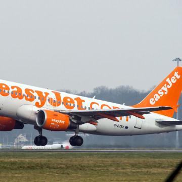 Image: An easyJet aircraft