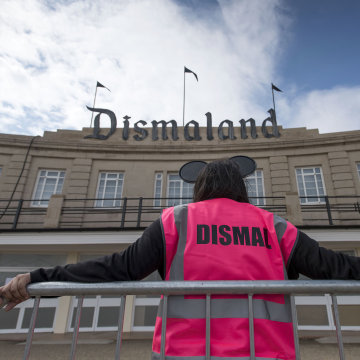 Image: Banksy Unveils Dismaland Bemusement Park In Weston-Super-Mare
