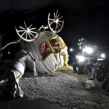 Image: A sculpture at 'Dismaland'