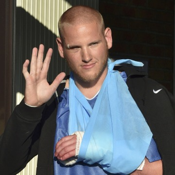 French Train Attack Hero Spencer Stone Stabbed