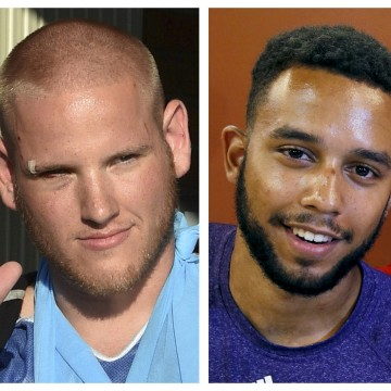 Image: Spencer Stone, Anthony Sadler and Alek Skarlatos