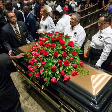 Image: Michael Brown funeral