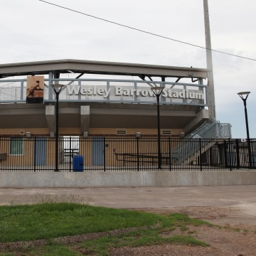 Image: Wesley Barrow Stadium in Pontchartrain Park, New Orleans