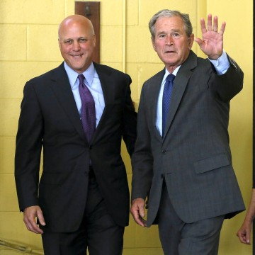 Image: Former U.S. President George W. Bush