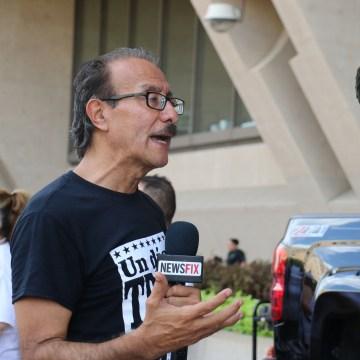 Image: Latino activist Carlos Quintanilla