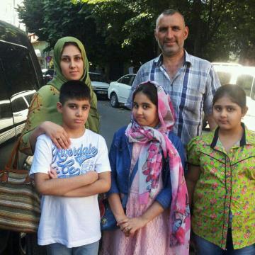 Image: The family of Zainab Abbas Abdullah and Ahmed Hadi Jawad