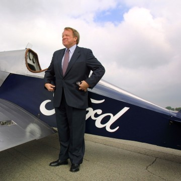 Ford Tri-Motor Planes Land At Dearborn