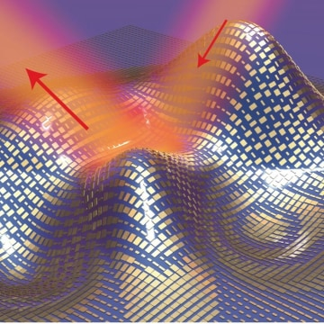 "Image: Illustration of the ultrathin ""invisibility"" cloak"