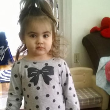 Image: Rachelle Bond posted a photo of her daughter Bella to her Facebook page.