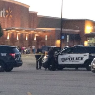 Image: Police at the scene