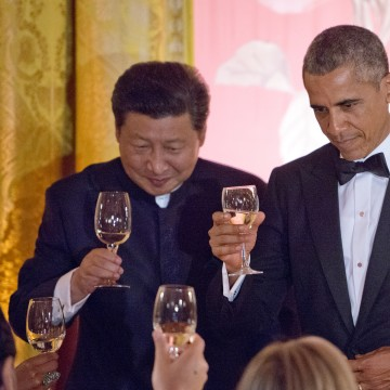 President Barack Obama and President Xi Jinping of China