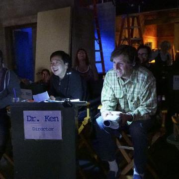 SCOTT ELLIS (DIRECTOR), KEN JEONG, MIKE SIKOWITZ (EXECUTIVE PRODUCER)