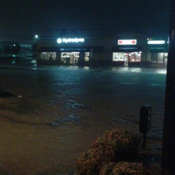 Image: Flash floods in Spartanburg, South Carolina