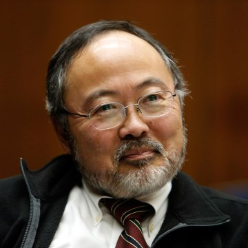 Image: Judge Lance Ito sits in his closed courtroom on Jan. 16, 2013