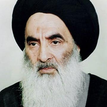 Image: Grand Ayatollah Ali al-Sistani