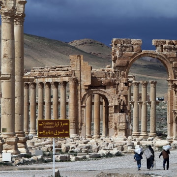 Image: SYRIA-CONFLICT-HERITAGE-PALMYRA-FILES