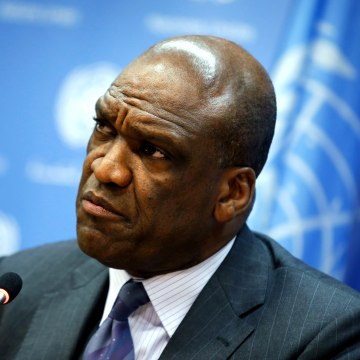 Image: Ambassador John Ashe of Antigua and Barbuda