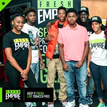 Image: Fresh Empire campaign