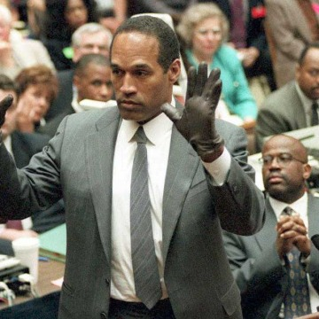 Image: O.J. Simpson in 1995