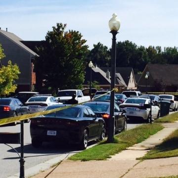 IMAGE: Memphis street where police Officer Terence Olridge was shot