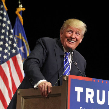Image: Donald Trump Holds Campaign Rally In Las Vegas