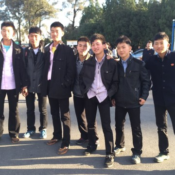 Image: North Korean youths