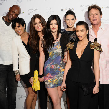 Image: The Kardashians and Lamar Odom in April 2011