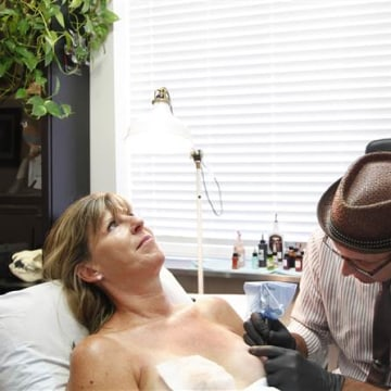 meet the tattoo artist making breast cancer survivors feel