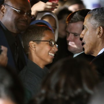 Image: President Obama Hosts Astronomy Night For Students On White House South Lawn