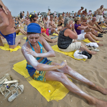Image: Sunscreen record