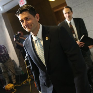 Image: Rep. Paul Ryan, R-Wisconsin