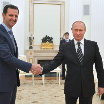 Image: Bashar Assad and Vladimir Putin