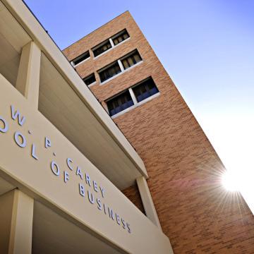 Image: W.P. Carey business school at Arizona State University