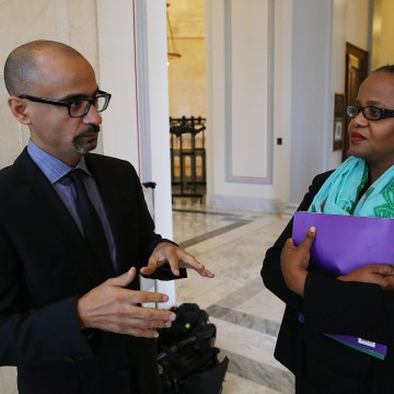 Image: Activists Call On Congress To Act Against Dominican Republic's Treatment Of Haitian Descendants
