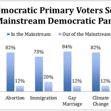Democratic Party Mainstream Graphic