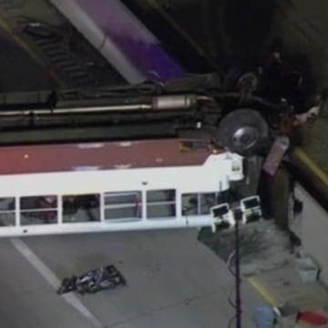 IMAGE: Lehigh University bus accident