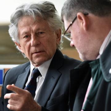 Image: Polish film director Roman Polanski in court