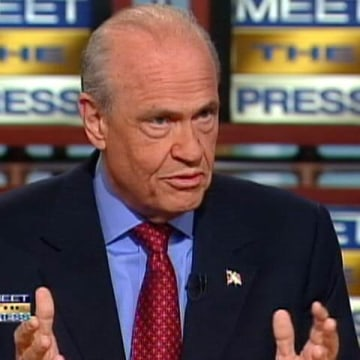 IMAGE: Fred Thompson on 'Meet the Press'