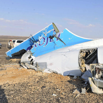 Image: Authorities fear all on board crashed Russian jet dead