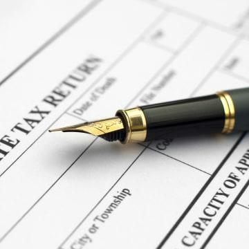 Image: Estate tax return