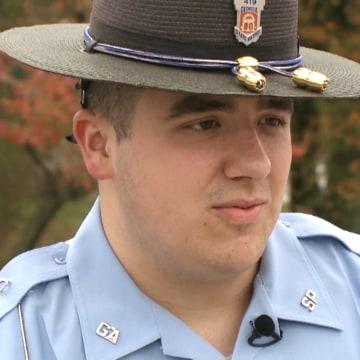 Image: Georgia State Patrol Trooper Nathan Bradley