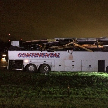 Image: Photo from the I-40 bus crash