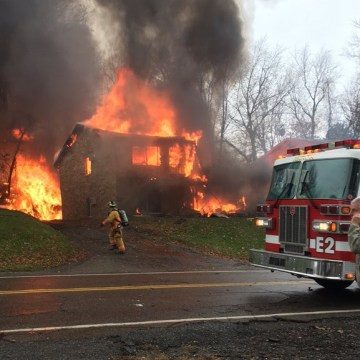 IMAGE: Akron plane crash